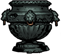 装飾された骨壷