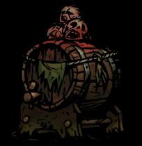 密造酒の樽