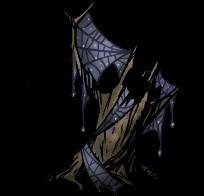 不気味な蜘蛛の巣
