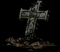 浅く掘った墓