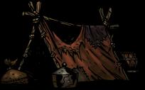 旅人のテント