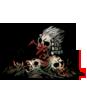 奇妙な骨の山